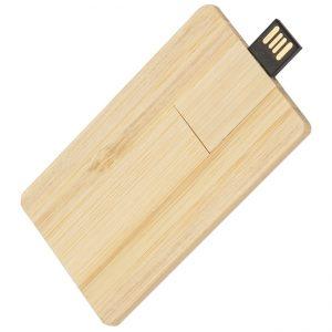 Carcaça pen card de madeira